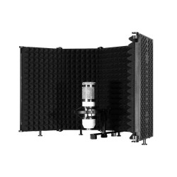 Background Microphone Isolation Sonore Bouclier